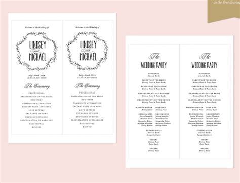 26 Wedding Ceremony Program Templates Psd Ai Indesign Pdf Doc Free Premium Templates Wedding Program Template Word