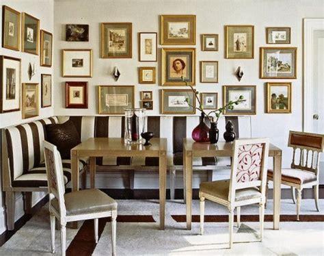 Wand Mit Vielen Bilderrahmen by Wand Dekoration Mit Bildern 29 Kunstvolle Wandgestaltung