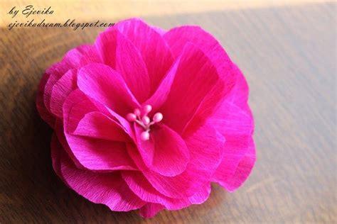 como hacer moo de papel crepe como hacer flores faciles de papel crepe artesan 237 as