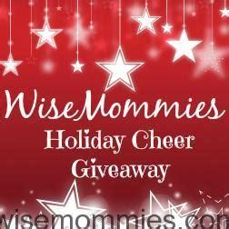 Cheer Giveaway - holiday cheer giveaway wisemommies
