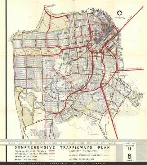 san francisco map high resolution maps of unrealized city plans reveal what might been