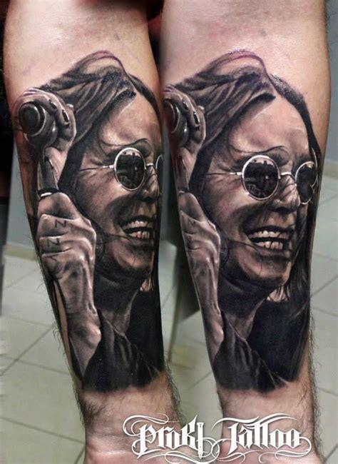 ozzy tattoos ozzy osbourne by artist kostas baronis