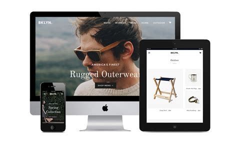 shopify themes brooklyn top 50 shopify themes for your ecommerce store
