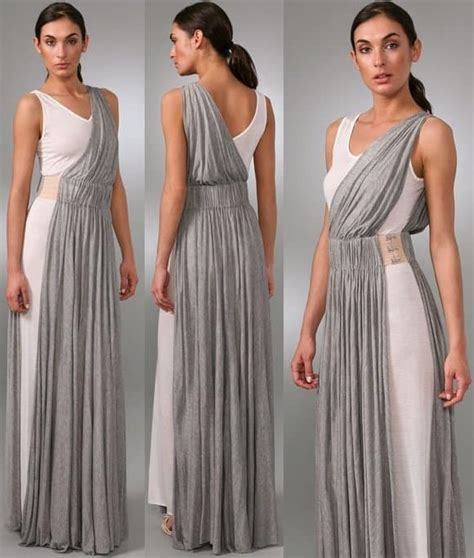 greek draped dress the stuff dream dresses are made of the a l c drape long