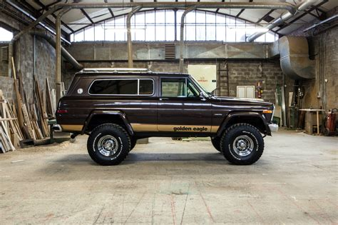 jeep eagle lifted bangshift com 1979 jeep golden eagle