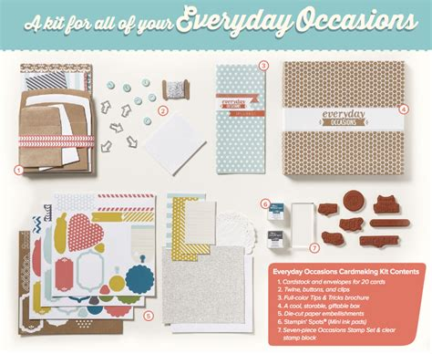 card kit for new everyday occasions kit stin up demonstrator
