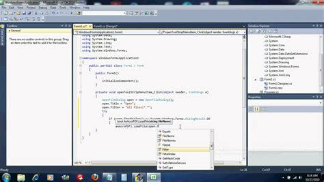 tutorial visual studio 2010 pdf visual studio 2010 express c tutorial pdf
