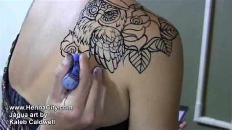 jagua tattoo removal jagua owl outline jagua application henna