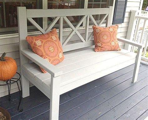 white porch bench 17 best ideas about ana white bench on pinterest white