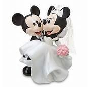 Your WDW Store  Disney Cake Topper Porcelain Figure Mickey Minnie