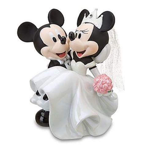 your wdw store disney cake topper porcelain figure mickey minnie wedding - Mickey And Minnie Mouse Disney Wedding Cake Topper