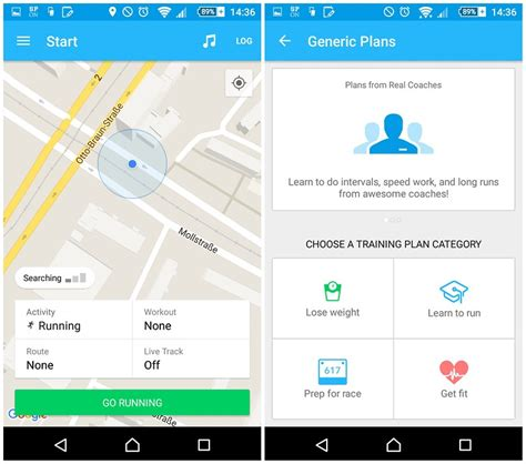 fitness tracker app for android what is the best run tracker app for android