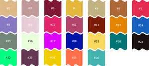 list of colors a z colors match up a z clickable w pics quiz by
