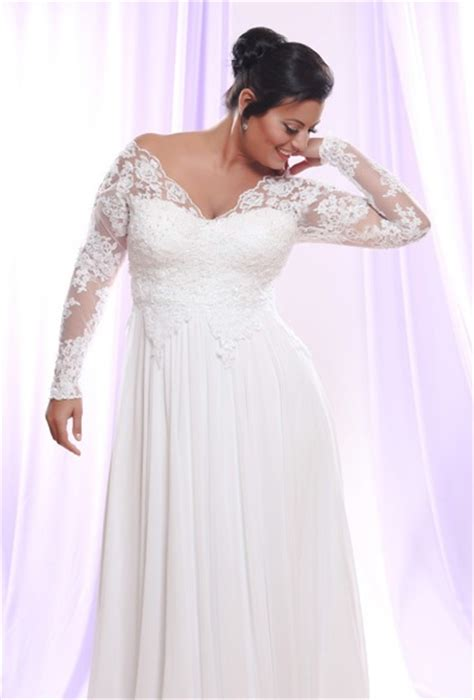 Plus Size Wedding Dresses With Sleeves by Wedding Dresses With Sleeves For Plus Size Wedding Hub