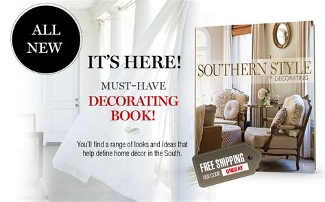 southern style decorating book southern style decorating book is here