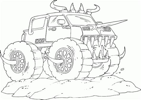 monster truck coloring pages 2 coloring pages to print