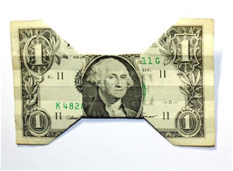 origami n stuff 4 origami dollar bill bow tie