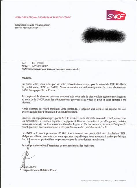 Lettre De Dédommagement Free Lettre Suite Au Comit 233 De Ligne Du 30 Octobre 2008 Pour Le Cr Et La Sncf 171 Les D 233 Ter Min 233 S