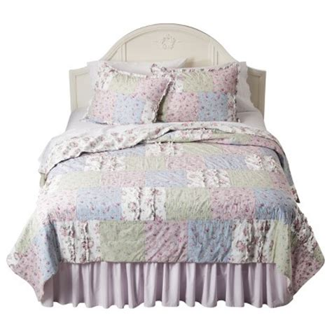 simply shabby chic 174 ditsy patchwork quilt collec target