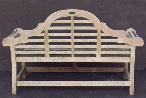 lutyens style garden bench lutyens style garden bench seat of teak at 1stdibs