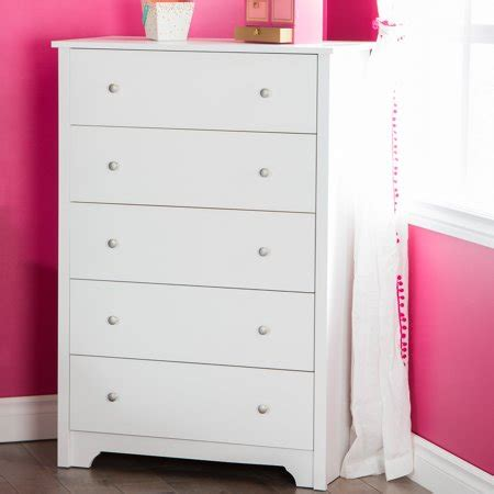 south shore vito 5 drawer chest white south shore vito 5 drawer chest finishes