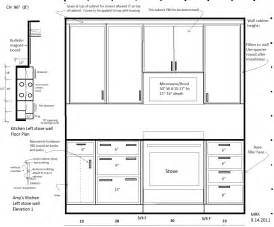 Standard Depth Kitchen Cabinets My Daughter S Kitchen Continued 3 Floor Plan Our Florida