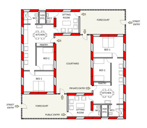 wall homes floor plans t wall housing in al qurnah basrah iraq by new world