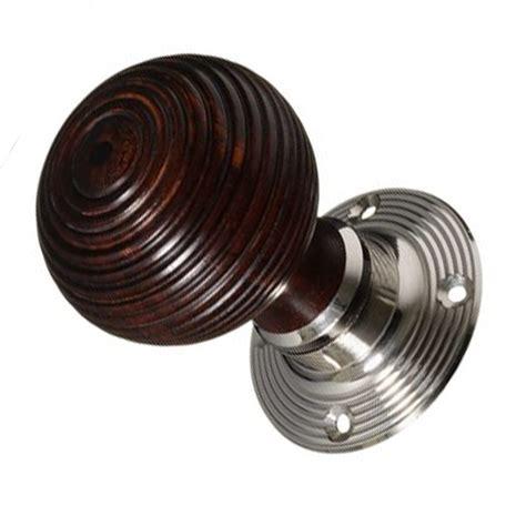 Knobs And Knockers Bromley by Hexham Ebonised Beehive Doorknobs Snobsknobs