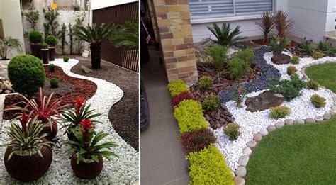 decoracion de jardin con piedras ideas para dise 241 ar un jard 237 n con piedras