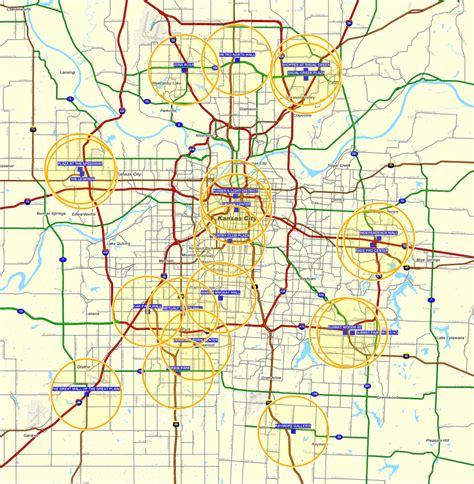 map of kansas city area greater kansas city map afputra
