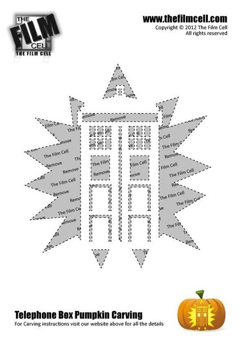 dr who tardis pumpkin carving template i love halloween
