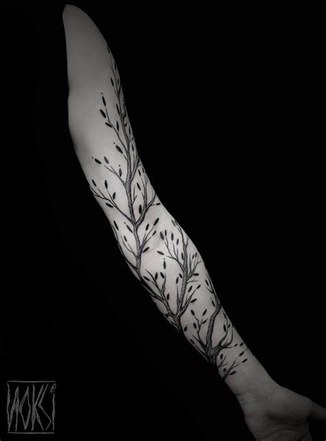 tree branch tattoo designs branches on arm best design ideas