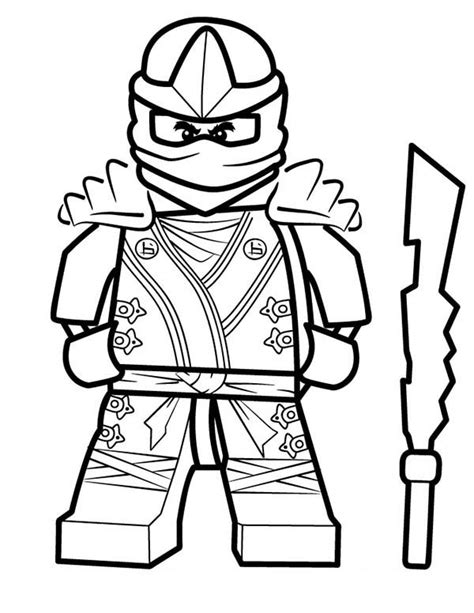 black ninjago coloring pages pin ninjago moto kai colouring pages on pinterest