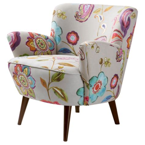 Kitchen Cabinets Overstock sophie floral accent chair regarding colorful accent