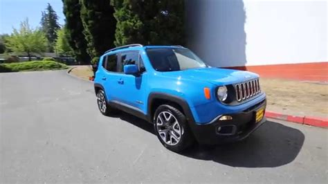 jeep renegade blue 2015 jeep renegade latitude blue fpb40730 redmond