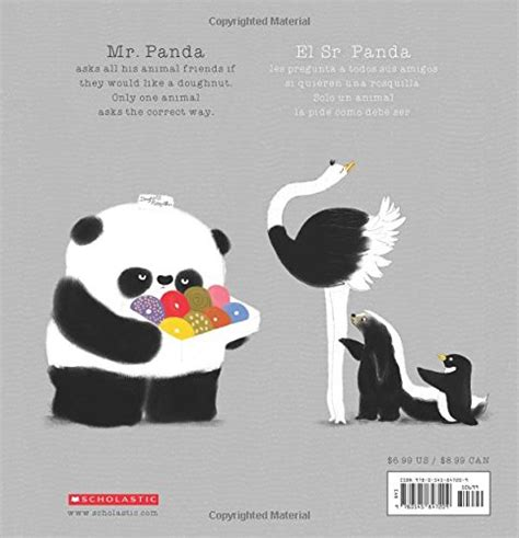 thank you mr panda gracias sr panda edition books mr panda por favor sr panda edition