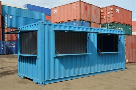 in container pop up shops retail food serving modified containers