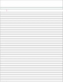 How To Make Lined Paper - lined paper college ruled for free tidyform