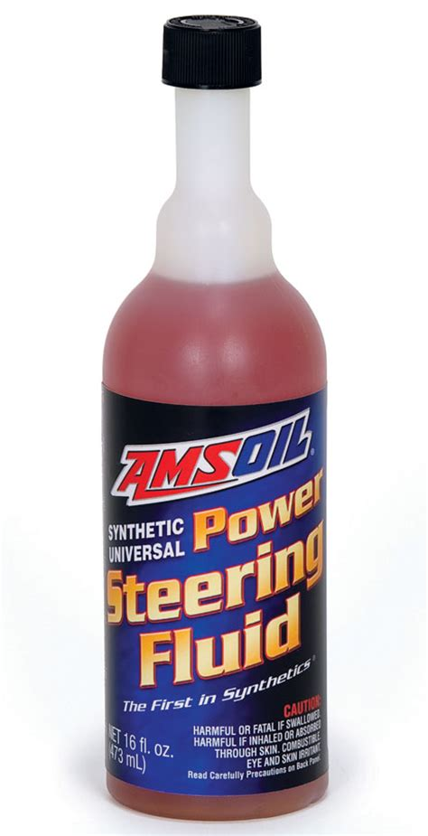 what color is power steering fluid amsoil multi vehicle synthetic power steering fluid psf