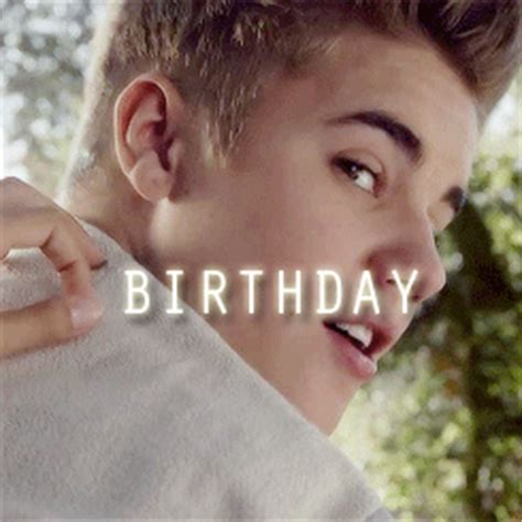 Justin Bieber Happy Birthday Meme - 1k justin bieber bby happy birthday justin bieber gifffs