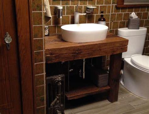Rustic Bathroom Vanities For Sale by Crafted Rustic Bath Vanity Reclaimed Barnwood By