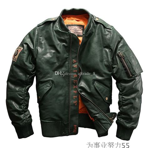 Fly Bomber Jacket 2018 bomber jacket avirex fly flight leather jackets