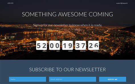 templates bootstrap countdown arrived coming soon bootstrap 3 template download new