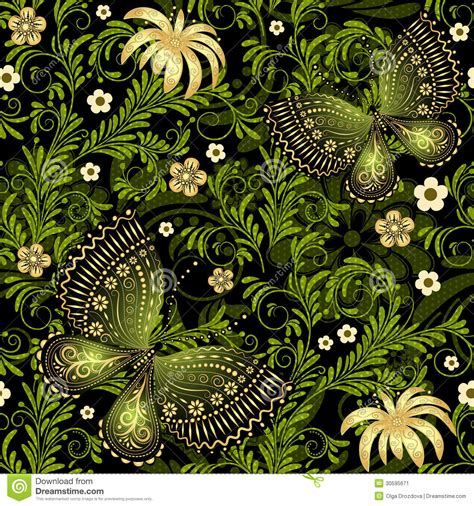 Best Wps220 White N Green Dot Flower Wallpaper Dinding Walpaper green gold seamless pattern stock image image