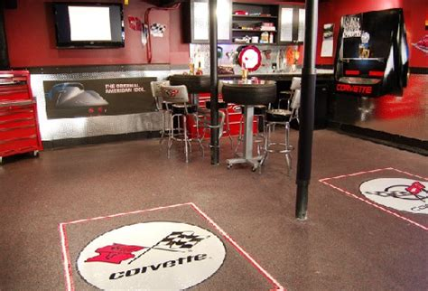 new home source com the garage as the ultimate man cave