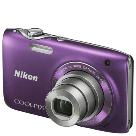 nikon coolpix  compact digital camera purple mp