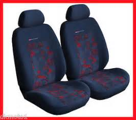 Seat Covers For Honda Jazz 2 X Car Seat Covers Ford Focus Honda Jazz Vw Polo A