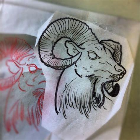 tattoos new school tumblr goat head tattoo tumblr