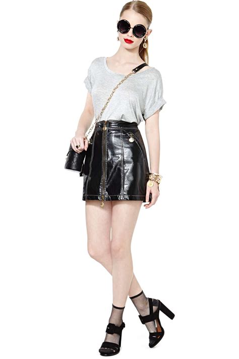 High By Moschino by Moschino Vintage To High Waisted Skirt In