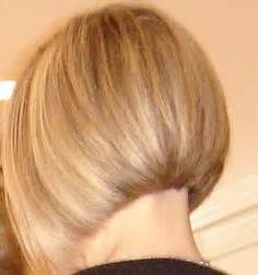 long graduated layers with a side angled or sweeping bang angled bob short hair blonde highlights and lowlights my